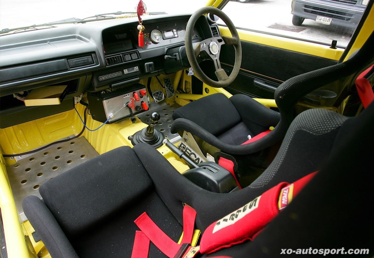 Toyota Corolla KE70 移植3S-GTE,变身300 hp战车!