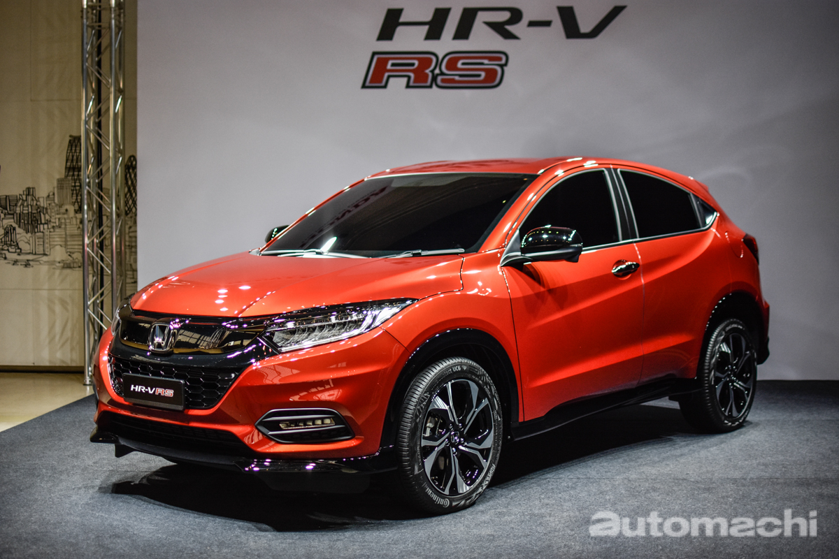 Hr V 2019 >> 2018 Honda HR-V 正式开放预订,大马会有RS版? | automachi.com