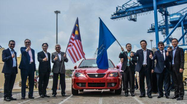 回归海外市场! Proton 出口453台汽车到中东!