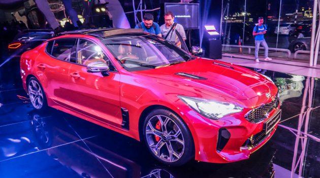 Kia Stinger 正式发布!两种车型,上路价格由 RM 239,888 起跳!