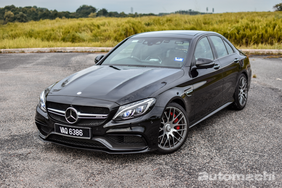 Mercedes-AMG C63S Sedan ,它会让你hold不住!
