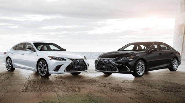 你不知道的事:现在的 Lexus ES 并不是 Toyota Camry 的换壳兄弟!