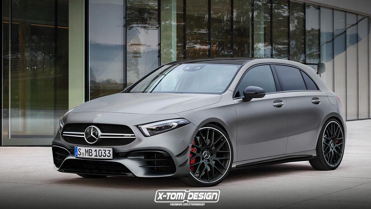 Mercedes-AMG A35 巴黎车展登场,史上最便宜的 AMG 车型?