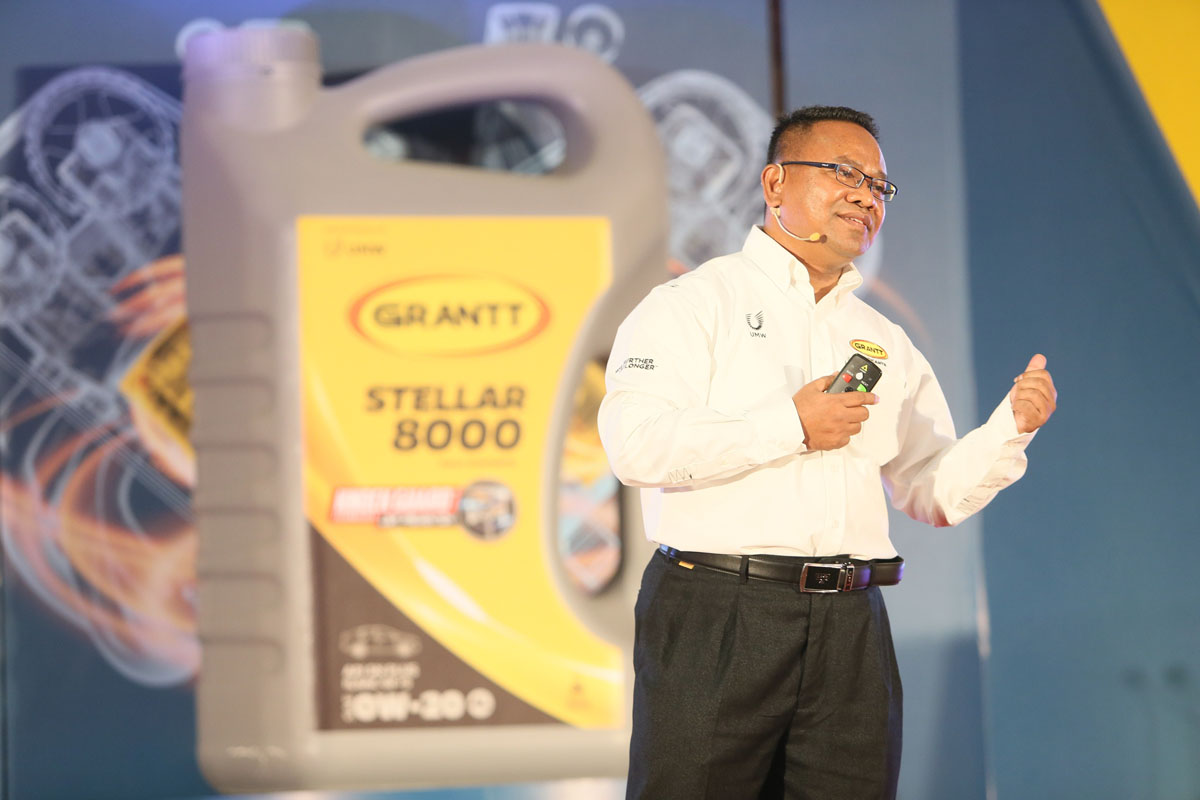 GRANTT Stellar 8000 SAE 0W-20 API SN PLUS 正式于马来西亚发表!