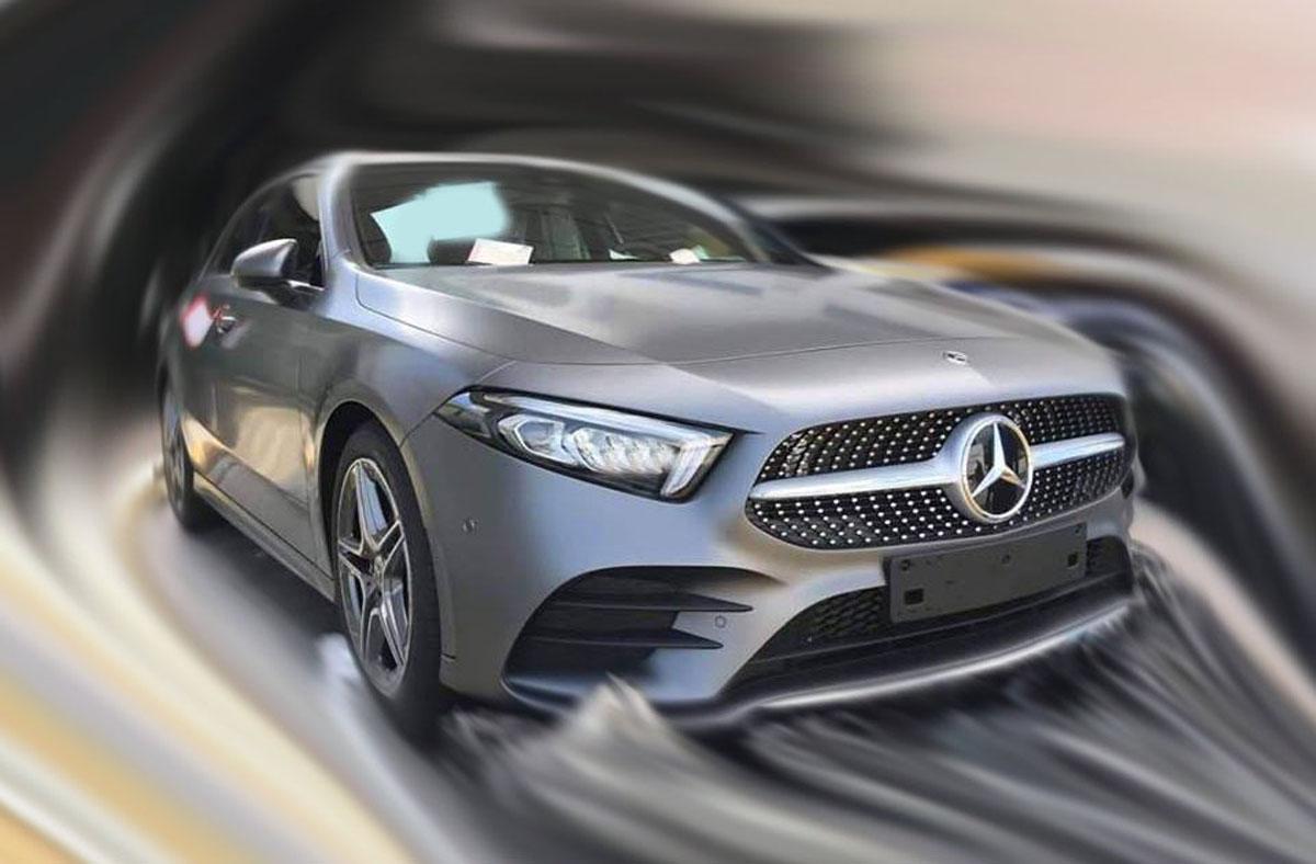 2018 Mercedes-Benz A200 到港,发布在即?