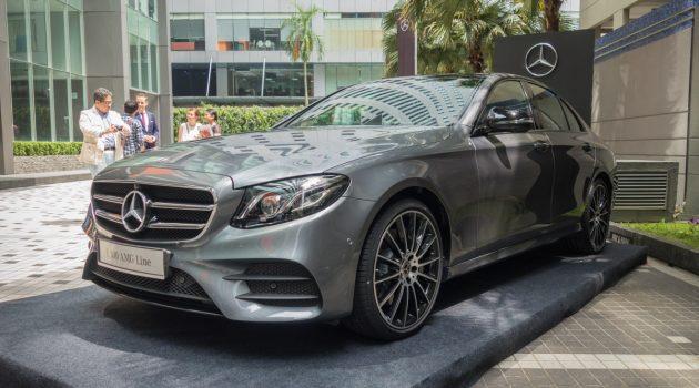 Mercedes-Benz E 300 AMG Line 登场,预计售价 RM 388,888 !
