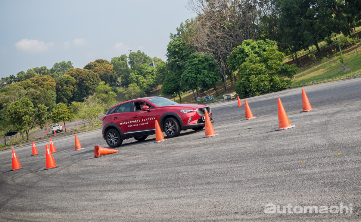 MazdaSports Day 动态驾驶体验,值得参与的活动!