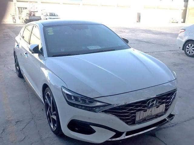 Hyundai Lafesta 实车曝光!新世代韩系轿跑!