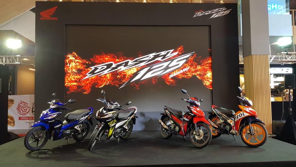 新增 LED 大灯设计, HONDA DASH 125 正式发布,售价 RM5,999 起!