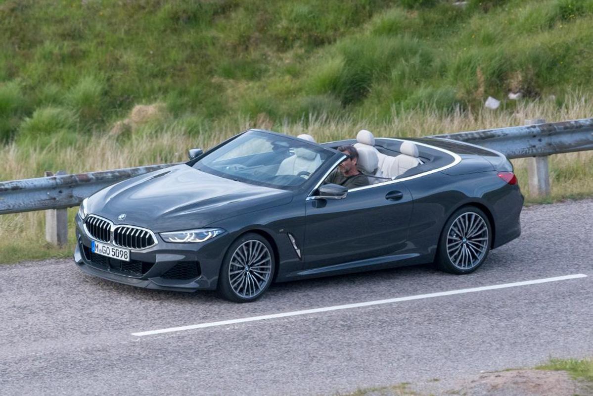 明年登场, 2019 BMW 8 Series Convertible 无伪装曝光!