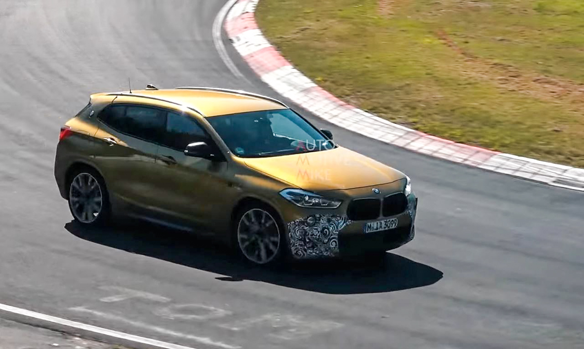 SUV 界中的钢炮王! BMW X2 或推出 300 hp 车型!