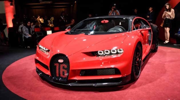 Bugatti Chiron Sport 正式于马来西亚发布!售价2,650,000欧元!