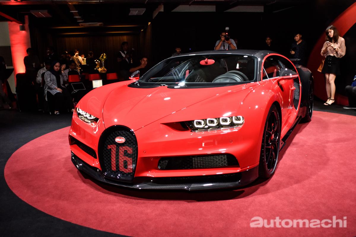 Bugatti Chiron Sport 正式于马来西亚发布!