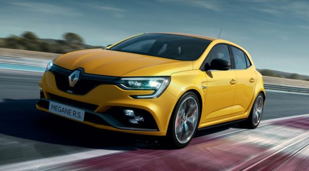 2018 Renault Megane R.S Trophy 登场,最大马力296 bhp!