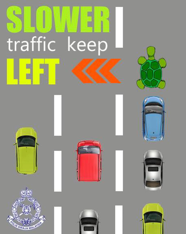 高速公路 Fast Lane 使用文化谈一谈!