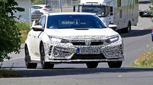 Honda Civic Type R 神秘伪装现身,入门版本要来了?