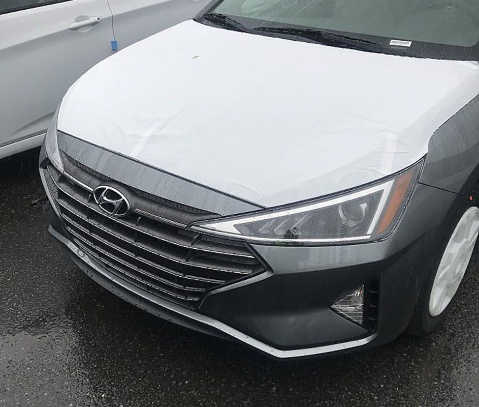 2019 Hyundai Elantra 造型完全曝光,宛如大改款!