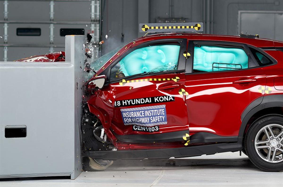 就差一点点! Hyundai Kona IIHS 撞击测试成绩出炉!