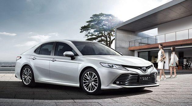 Toyota Camry XV70 东南亚首发,10月29日泰国登场!