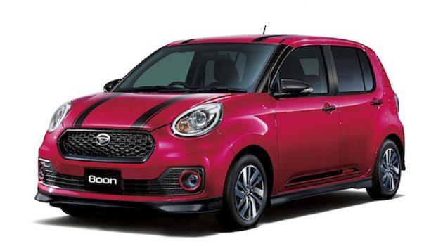 Daihatsu Boon D-Tune Edition 发布,性能小幅度提升!