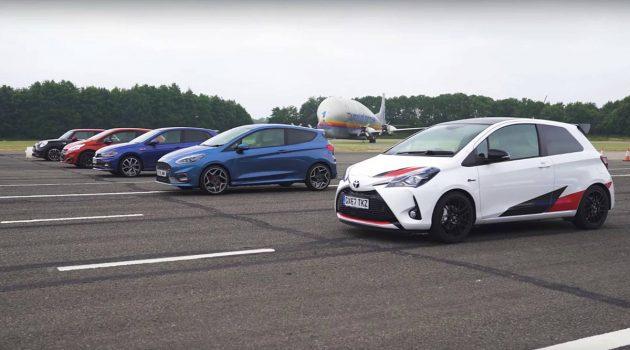 Toyota Yaris GRMN 大胜同级对手,谁说 Toyota 不能跑?