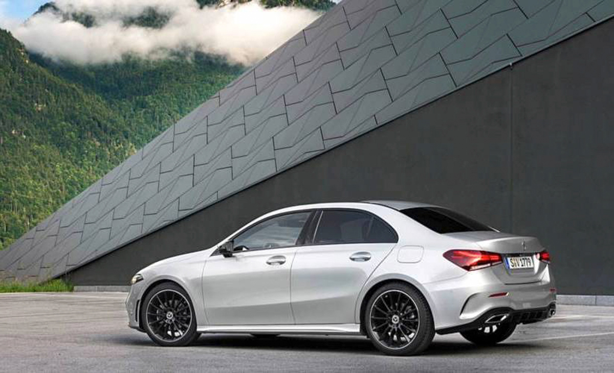 2019 mercedes benz a class sedan