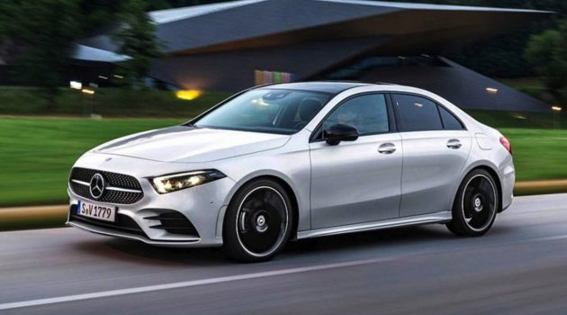 2019 Mercedes-Benz A-Class Sedan 官图提前曝光!
