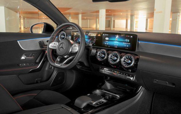2019 Mercedes-Benz A-Class Sedan 规格出炉,巴黎车展见!