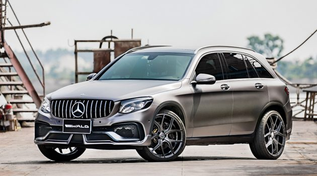 Mercedes-Benz GLC Sports Line Black Bison 套件帅气登场!