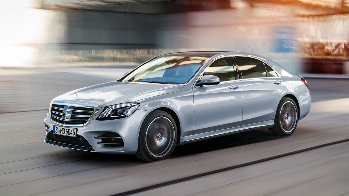 Mercedes benz s class for Mercedes benz s500 coupe