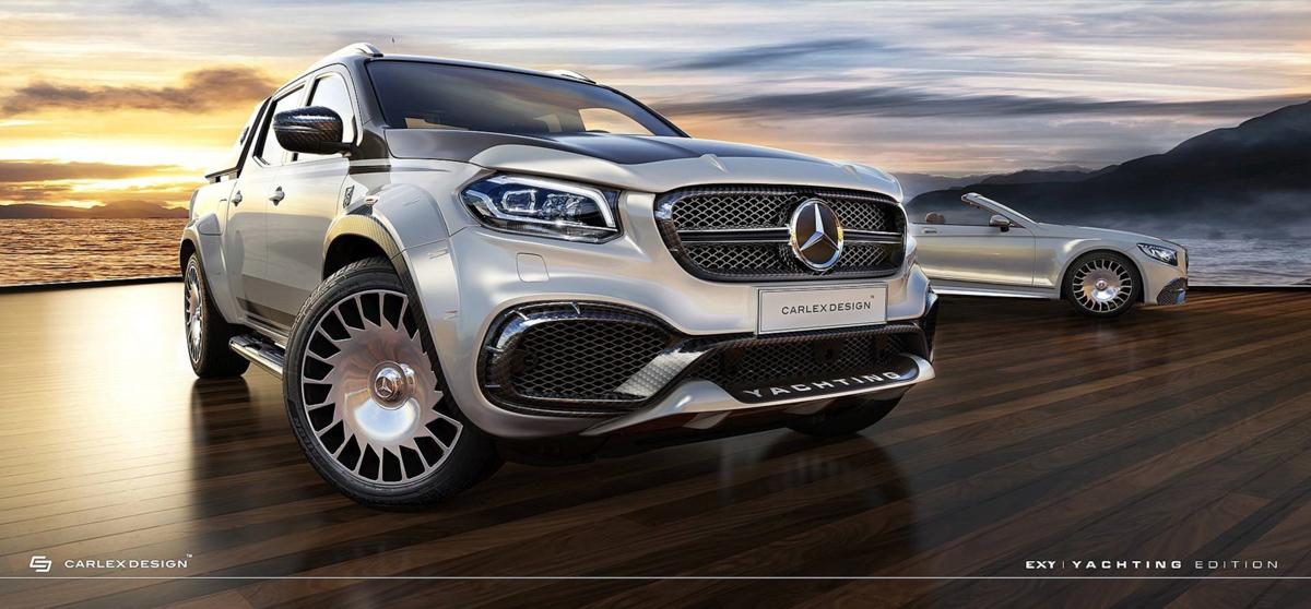 皮卡也奢华! Mercedes-Benz X-Class Carlex Design 登场!