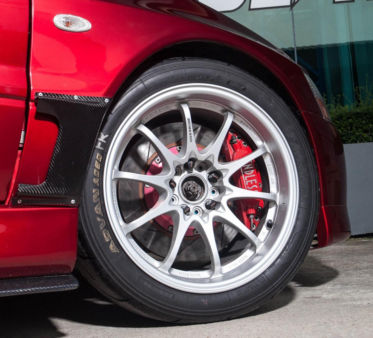 超强芦笋,644 hp 的 Mitsubishi Evolution IX !