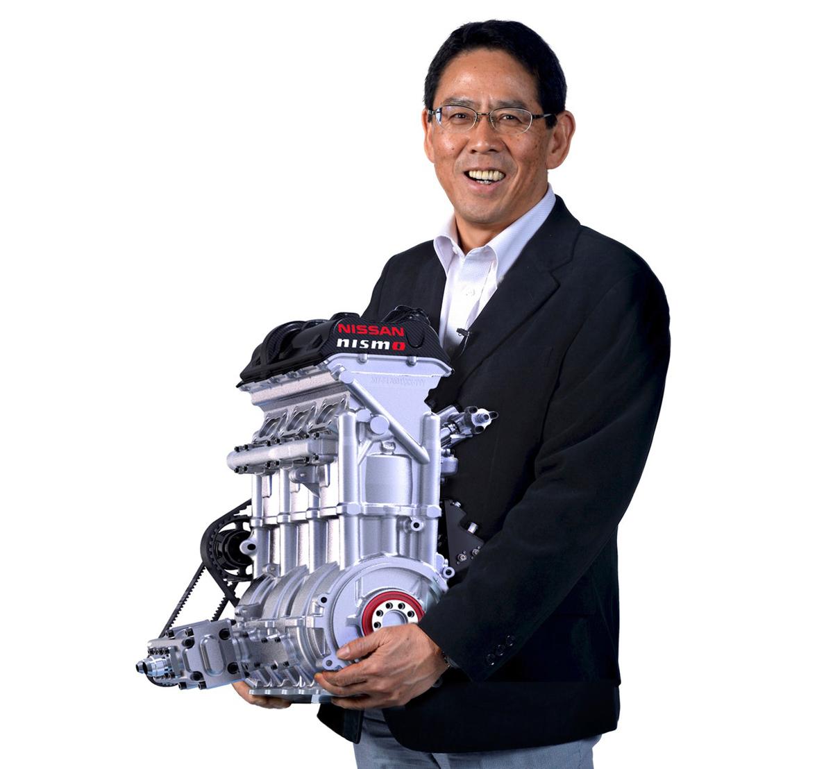 小个头大马力!400 hp 的 Nissan DIG-T-R 涡轮引擎!