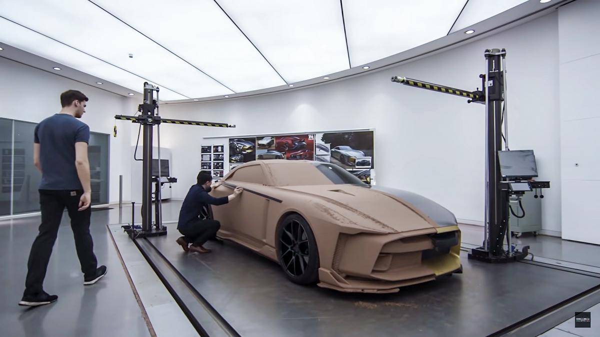 手工打造, Nissan GT-R50 制作过程大公开!