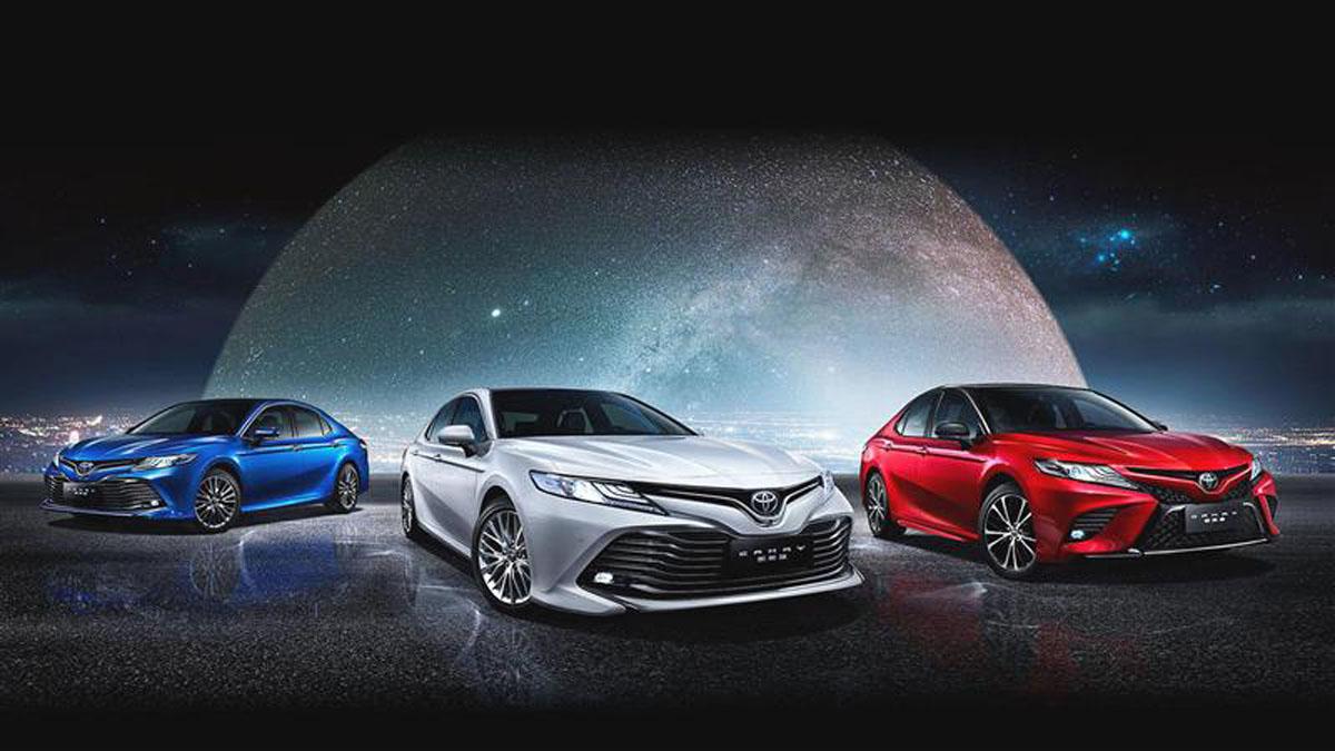 Toyota Camry XV70 荣登美国最畅销房车!