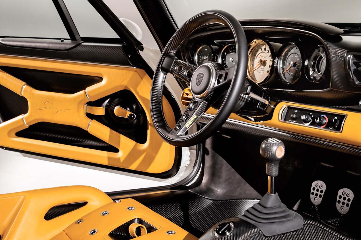 美得像艺术品! Singer 打造最先进风冷怀旧 Porsche 911 !