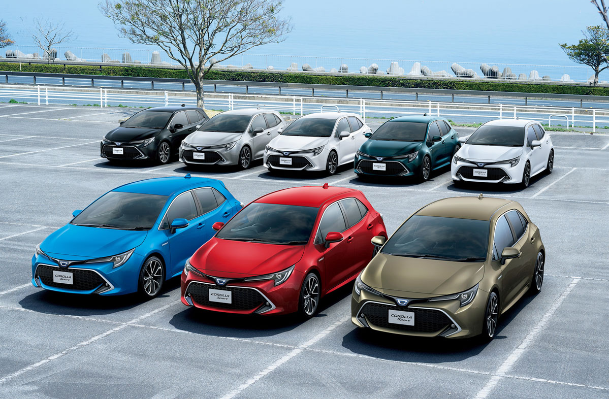 超好卖! Toyota Corolla Sport 日本上市首月订单近1万辆!