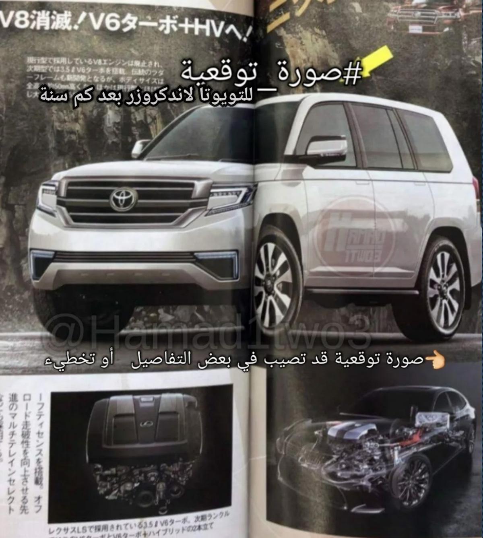 采用10速自排 ,新一代 Toyota Land Cruiser 规格曝光!