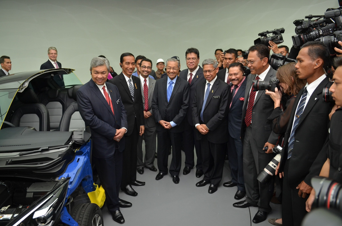 与印尼携手开发 Protiga ?首相:或恢复东盟国产车计划!