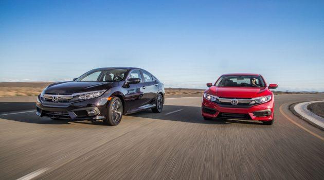 Honda Civic FC 成为全球销量第四的车款!