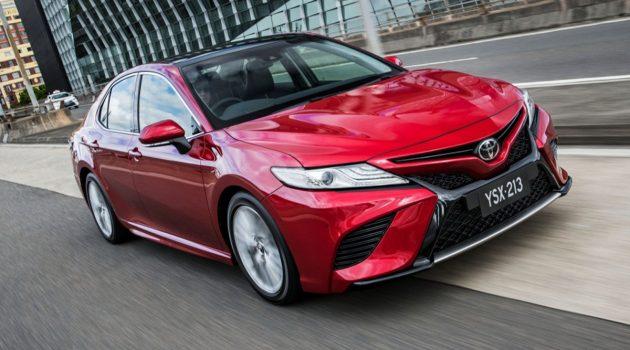 Toyota Camry XV70 11月登场?先期采取CBU方式销售!