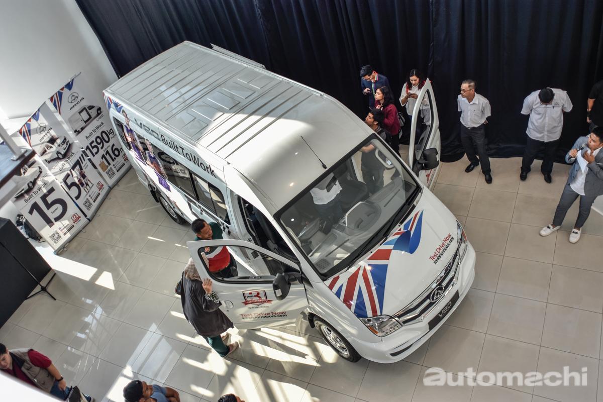 2018 Maxus V80 正式发表,油耗表现更好!