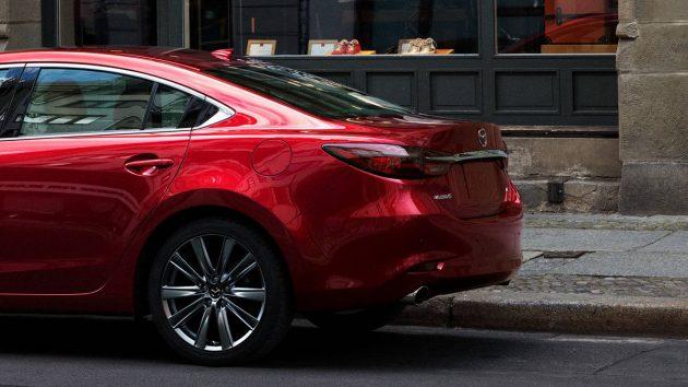 2018 Mazda6 现身大马!涡轮引擎或暂时无望!