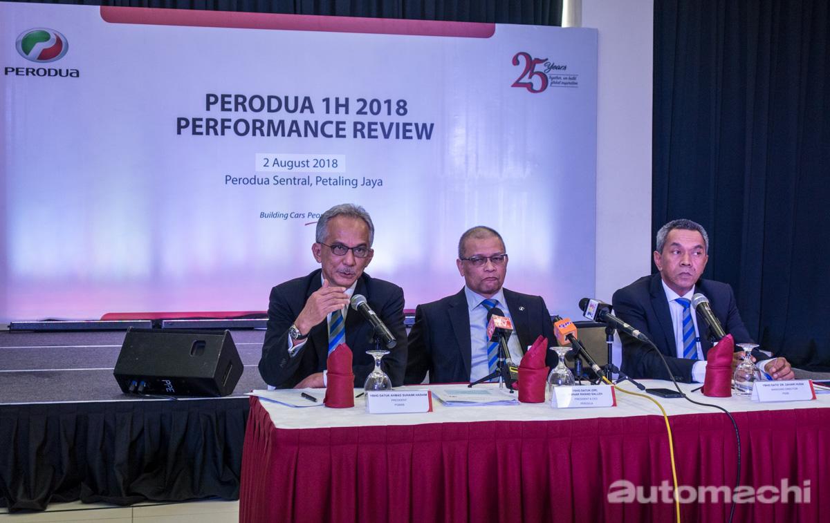 表现强劲, Perodua 2018 上半年销售成绩创新高!