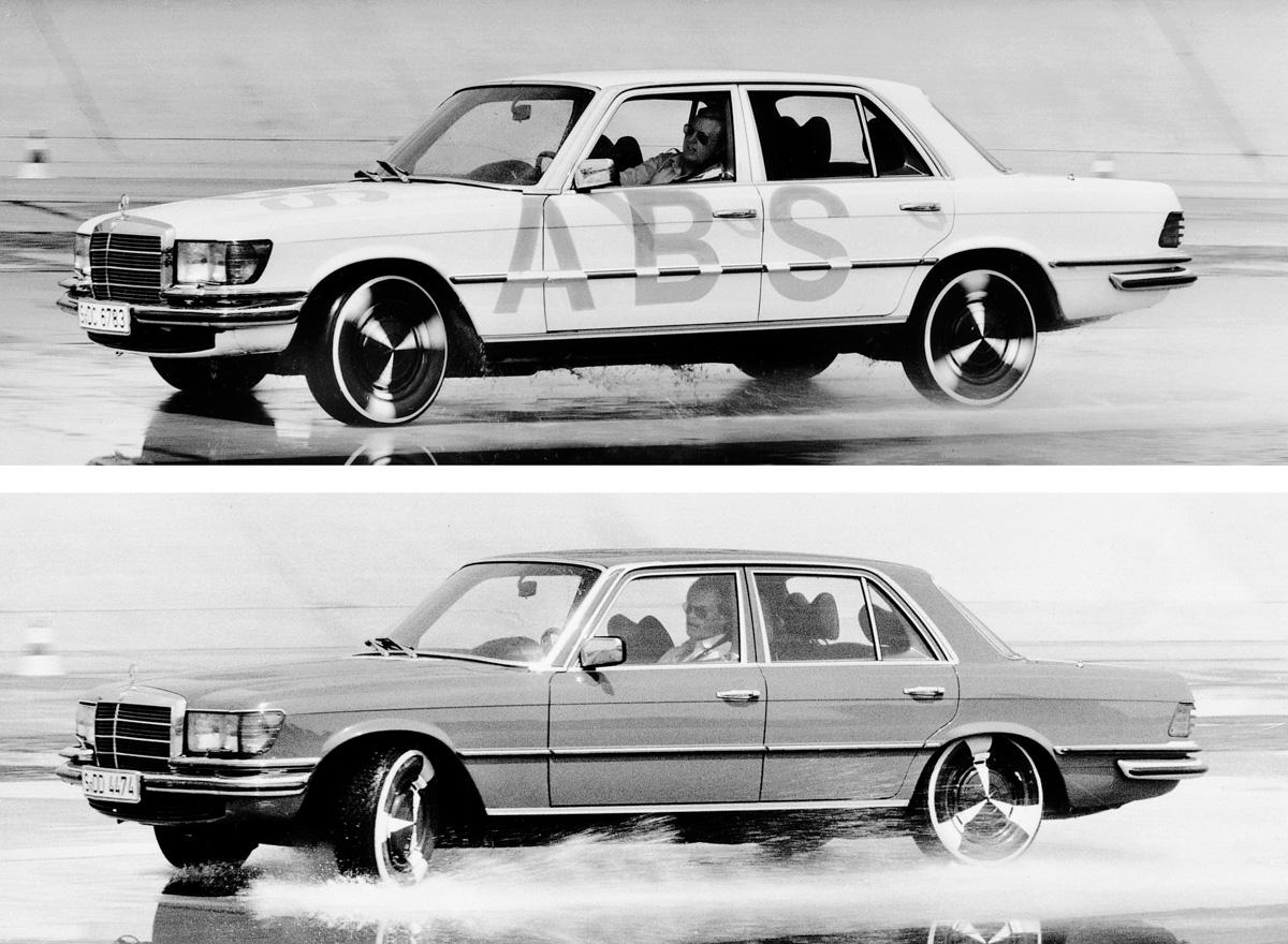 1978年首发, ABS 防锁死刹车系统问世40年了!