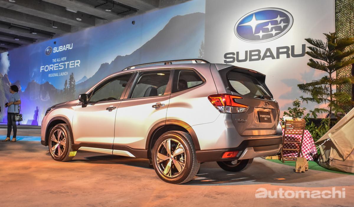 All-New Subaru Forester 亚洲首发,最快明年第二季引进大马!