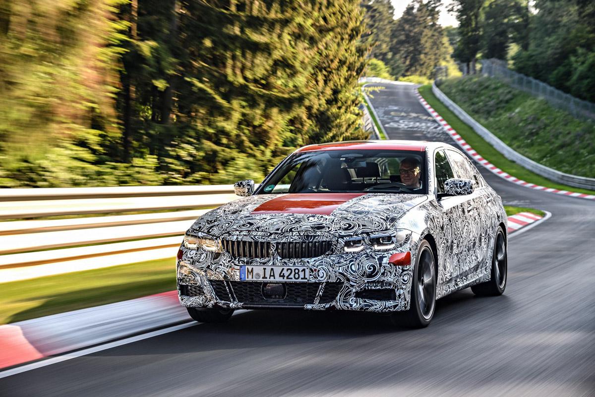 完美配重, BMW 3 Series G20 更多细节曝光!
