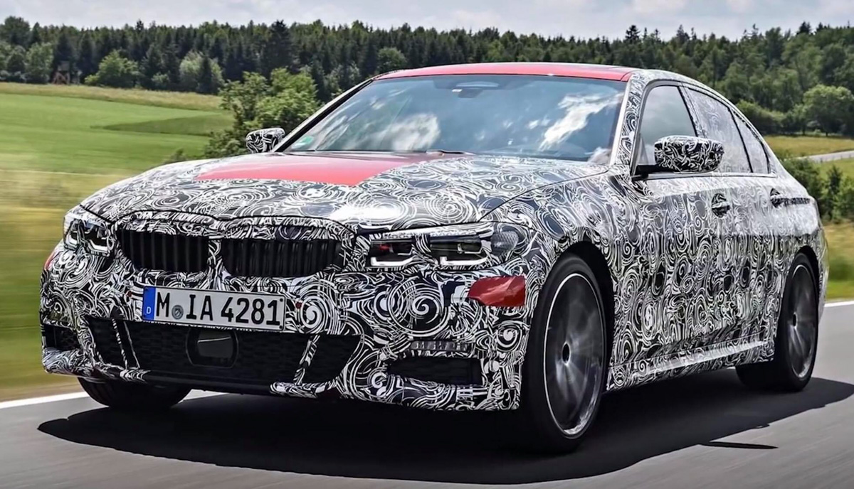 "BMW 3 Series G20 官方""谍照""出炉,引擎规格曝光!"