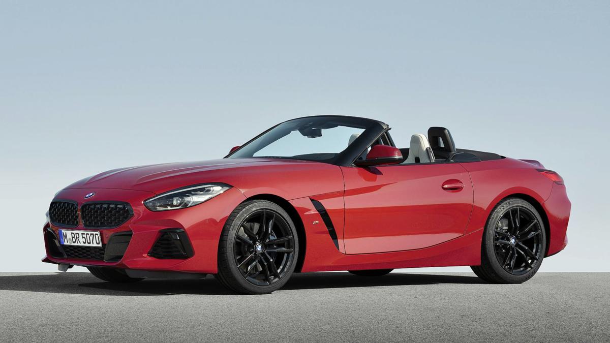 2019 BMW Z4 正式发表!0-97 km/h 只需4.4秒!