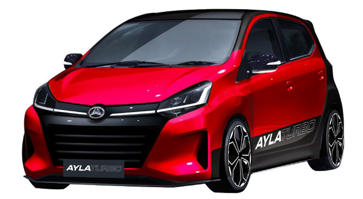 Daihatsu Ayla Turbo ,200 ps 的 Perodua Axia !
